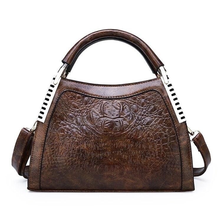 Fashion Luxury Crocodile Leather Ladies Handbag for Women Bag Brand Designer Party Messenger Shoulder Bag Female Bolsas Feminina