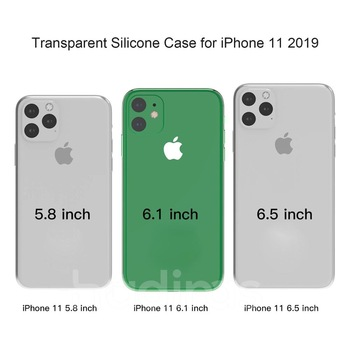 Hadinas Silicone Case for iPhone 11/11 Pro/11 Pro Max 1