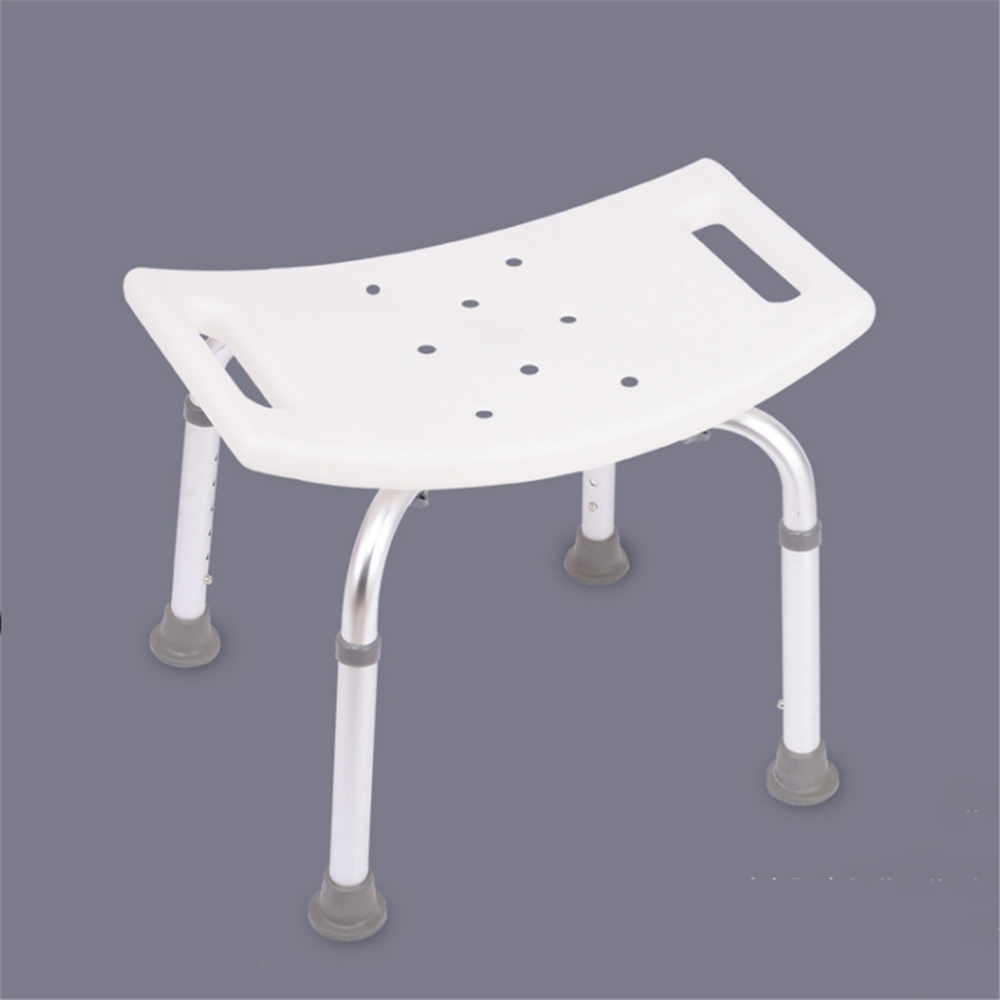 Aid Seat Without Back Chair Height Adjustable Non Slip Toilet Seat Disabled Home Adult Elderly Pregnancy Kids Bath Shower Stool 5