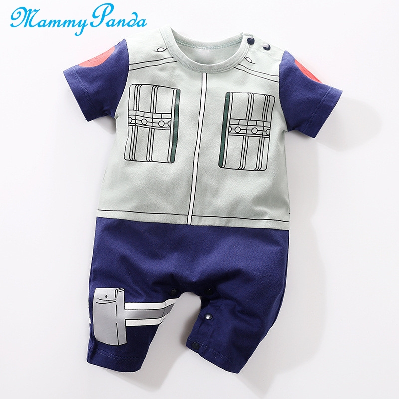 Sea Turtle Baby Rompers One Piece Jumpsuits Summer Outfits Clothes Gray