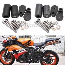 Мотоцикл без выреза рамки Ползунки Крушение защита от падения для Honda CBR1000RR CBR 1000RR CBR 1000 RR 2006 2007