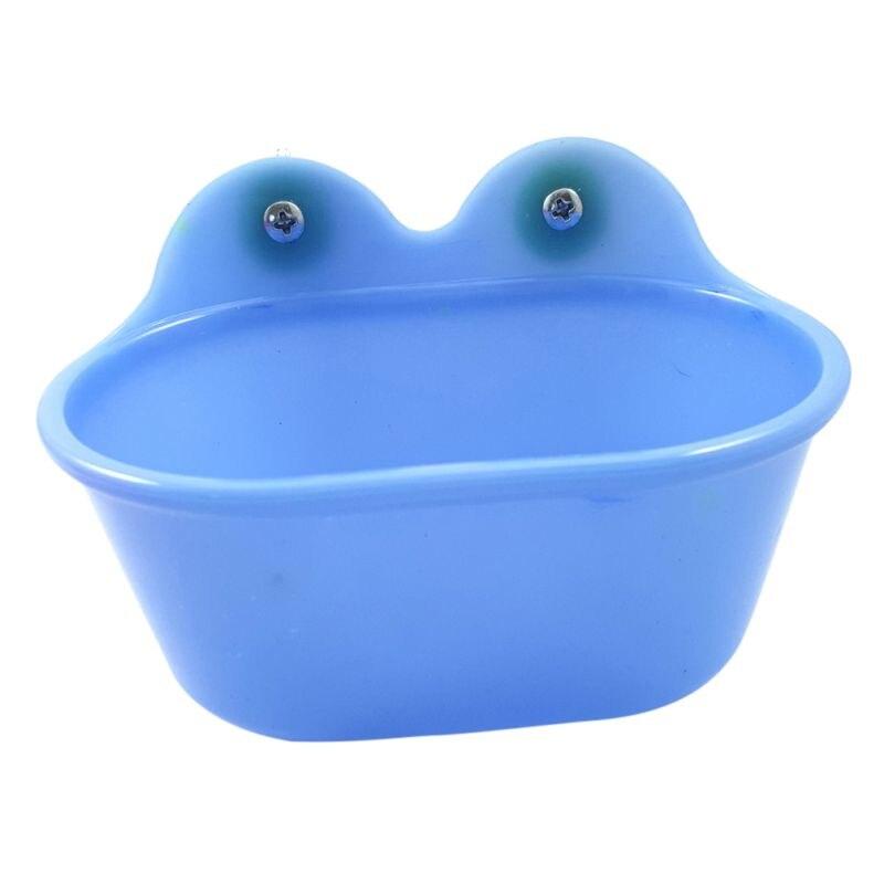 Nouveauté oiseau baignoire bol bassin suspendu bain d'oiseau jouet animal perroquet distributeur de nourriture avec miroir