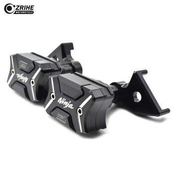 Motorcycle Frame Crash Pads Mortorbike Engine Case Sliders Protector Frame Engine Guard FOR Kawasaki Ninja ZX10R 2011-2013
