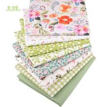 Serie floreali, Stampato Twill di Cotone Tessuto, Per FAI DA TE Cucito Quilting biancheria Da letto Del Bambino e Per Bambini Materiale