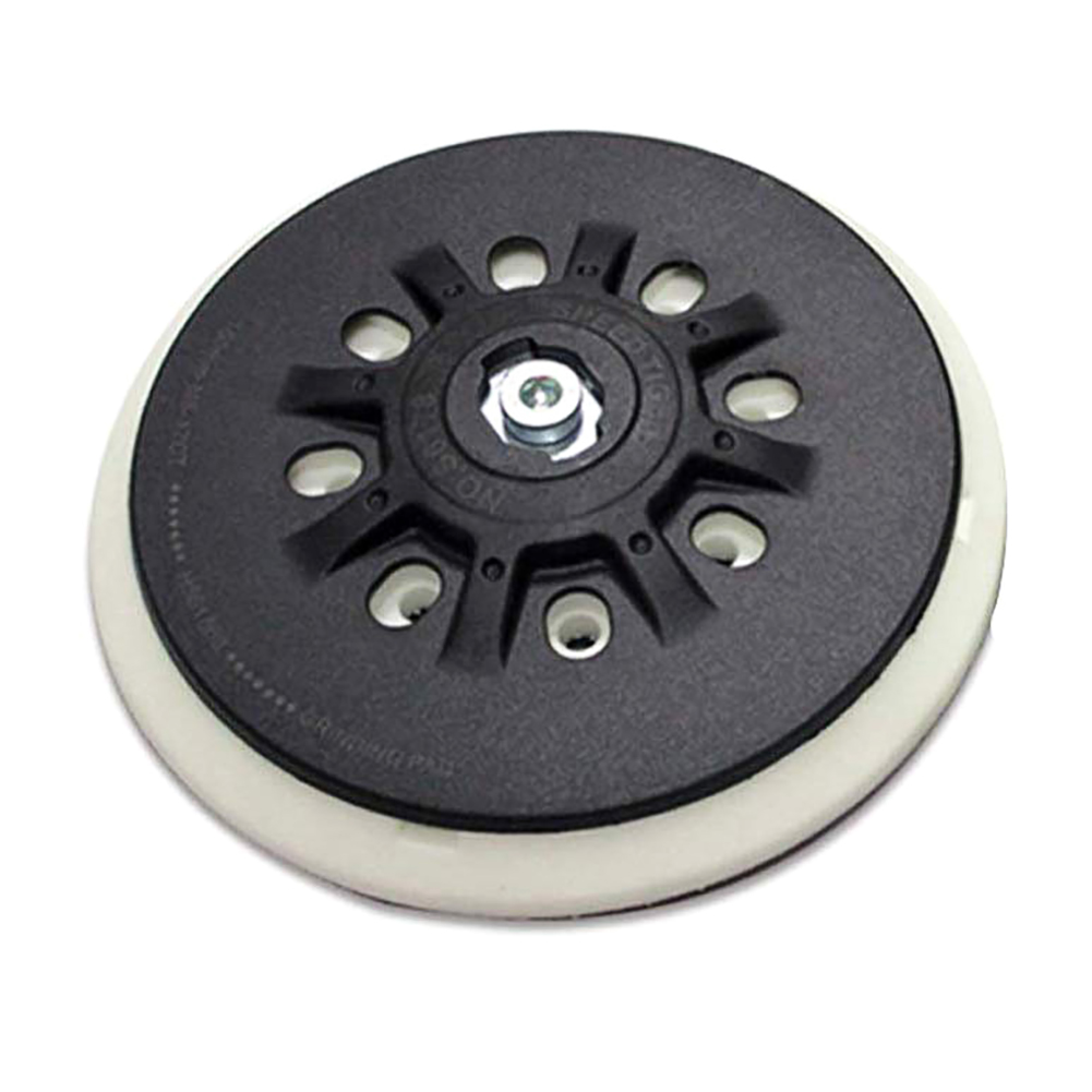 6 Inch 17-Hole 150mm Dust-free Back-up Sanding Pad For 6
