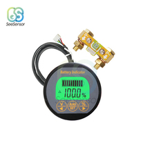Battery Capacity Tester DC8-80V 350A TR16 Indicator Ammeter Voltmeter for Li-ion Lithium Batteries