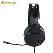 цена на HYASIA USB Gaming Headset PC Gaming Headphone for Computer 7.1 Virtual Surround Bass Stereo With Microphone Game Earphone Gamer