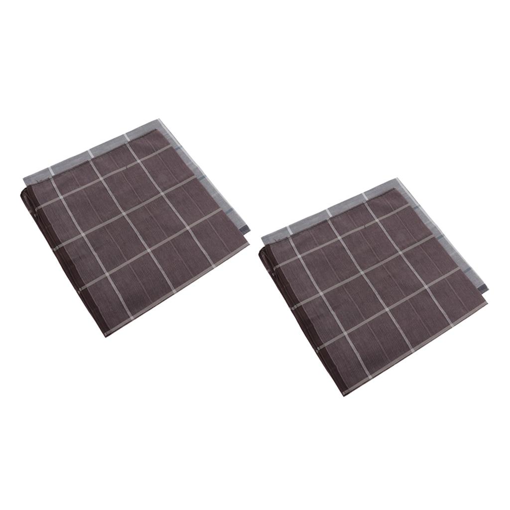 Men's Handkerchiefs Set, 100% Cotton Fabric Handkerchief (Set Of 4)