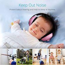 Детские защитные наушники для защиты слуха, детские наушники с шумоподавлением, мягкие и удобные детские наушники