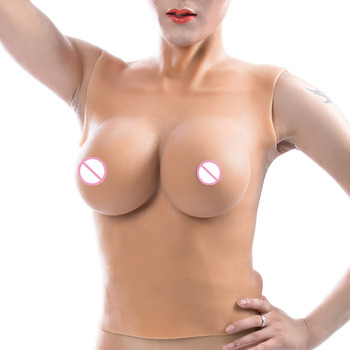 D Cup 100% Medical Top Quality Silicone Breast Forms For Shemale Real Boobs