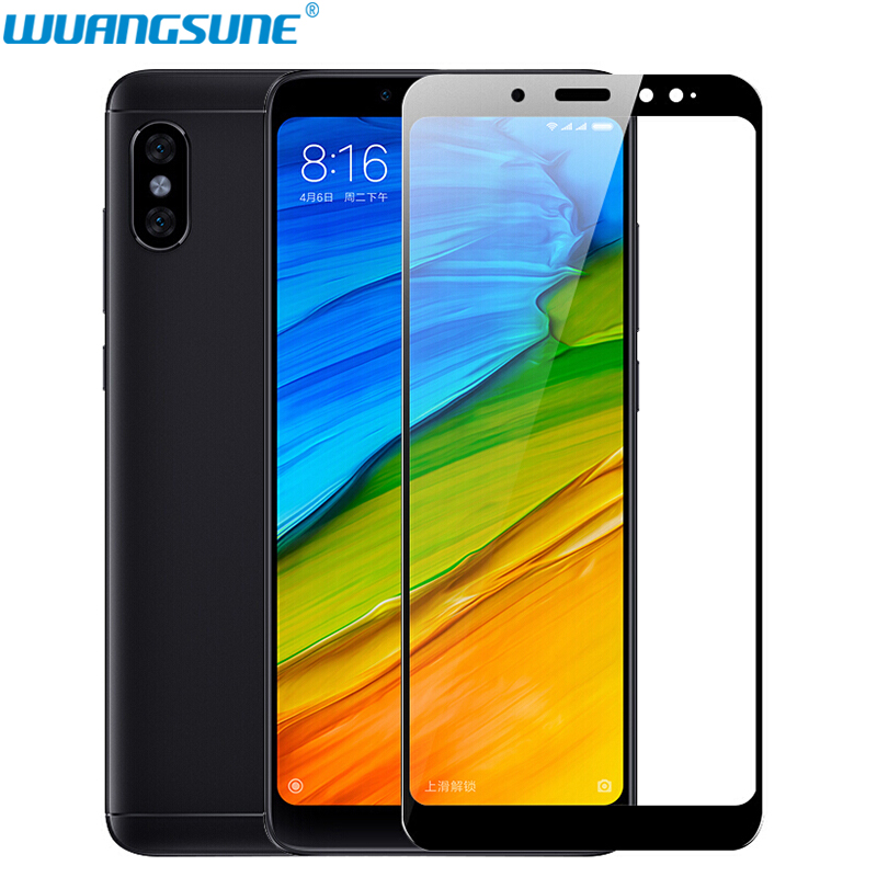 For Xiaomi Redmi Note 5 7 Pro Tempered Glass Full Cover Prime Screen Protector Film Redmi Note 5 7 Phone Protection Glass 64gb