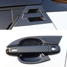Автомобильный ABS Хромированная ручка Защитная Крышка Дверные ручки Внешний чаши Накладка для Toyota CHR C-HR автомобильные аксессуары