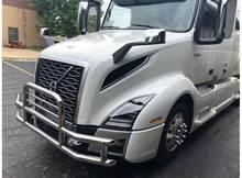 Apto para international prostar semi caminhão amortecedor dianteiro barra de touro veados grade guarda apto para fj120 bull bar