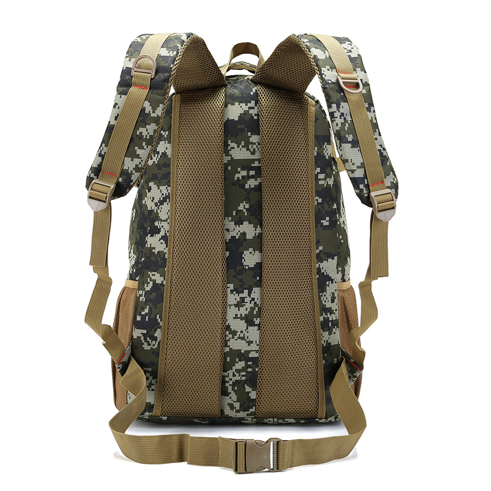 New Style 50L Camouflage Mountaineering Bag Nylon Sports Backpack Outdoor Travel Large-Volume Backpack