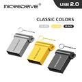 3 цвета Мини крошечный 32Гб металлический USB флеш-накопитель 16 ГБ 32 ГБ 64 Гб 128 ГБ Флеш накопитель USB2.0 крошечные флеш-накопитель u-диск cle usb