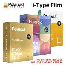 새로운 정품 Polaroid Originals Onestep2VF Instax 카메라 용 인스턴트 I 형 필름 색상 및 검정색 흰색
