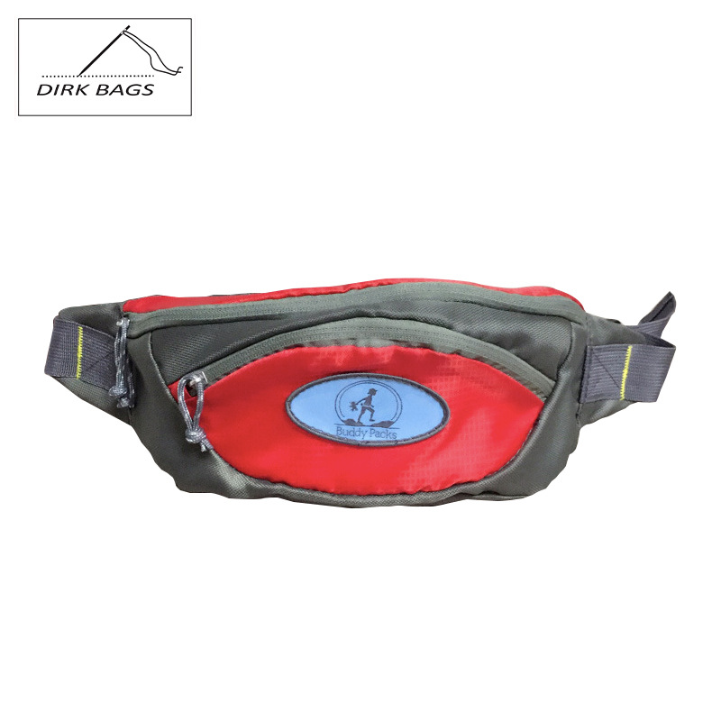 Profession Every Simple Travel Outdoor Sport Waist Bag Jacquard Plaid Oxford Cloth Mountain Climbing Rides Luggage