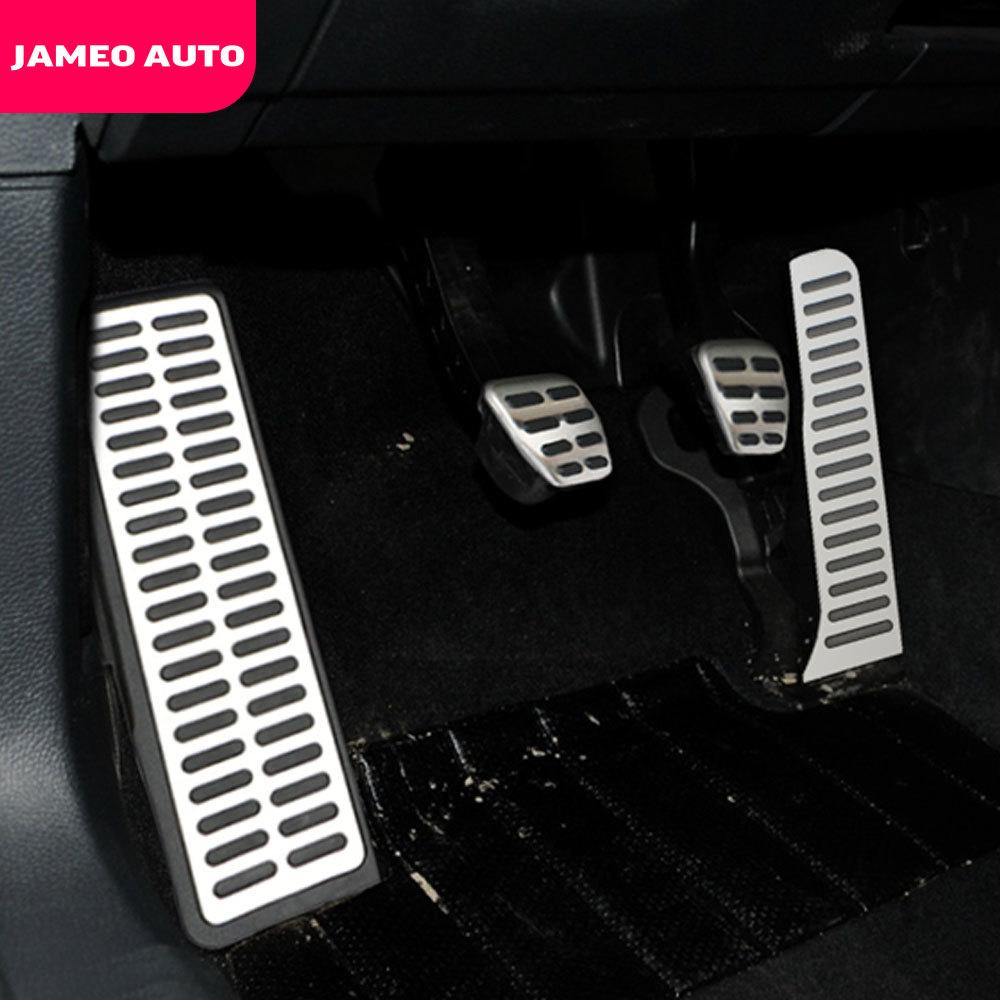 Jameo Auto Car Pedal Pedals Cover for VW Golf 5 6 GTI Jetta MK5 CC Passat B6 Tiguan Touareg for Skoda Octavia Accessories