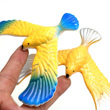 2019 Amazing Balancing Eagle With Pyramid Stand Magic Bird Desk Kids Toy Fun Learn Funny Juguetes Novelty Gift for baby toys(China)