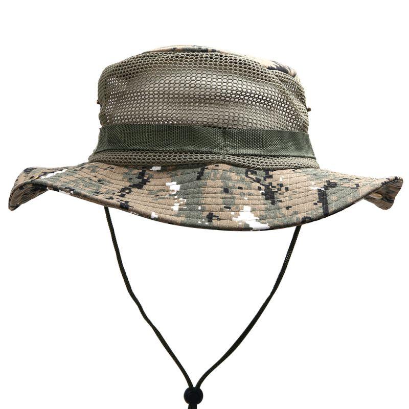 malha de camuflagem chapeu de pesca caminhadas 04