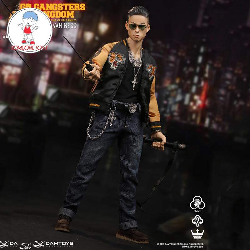 DAMTOYS 1/6 <font><b>Gangsters</b></font> <font><b>Kingdom</b></font>-Club 2 Van Ness GK017 Wu Jianhao Van Ness Action Figure Model Toys Gift image