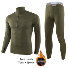 New Thermal Underwear For Men Male Thermo Clothes Long Johns