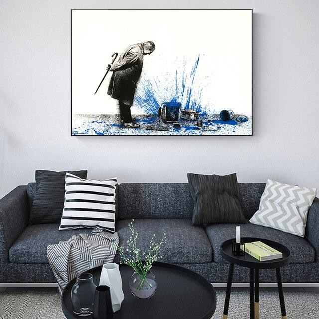 Фото современный домашний декор абстрактная картина на холсте настенная