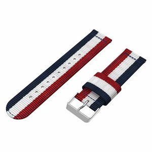 Image 5 - Nylon Strap for Samsung Galaxy Watch Active 42/46mm Gear S3 20/22mm Sport Watchband for Huami Amazfit Huawei Watch 2 gt Ticwatch