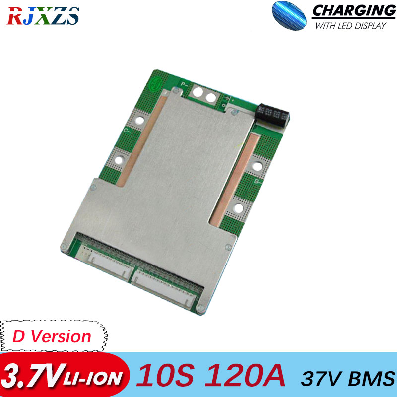 10S 80A/100A/120A bms Li ion 42V large high current BMS PCM with same discharge port  for electric bike electric-in Integrated Circuits from Electronic Components & Supplies    1