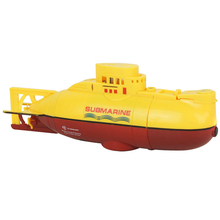 TOY Boat Submarine Radio-Control Yellow 3311 Gifts Sea-Wing Tourism Star CHINDREN 27mhz