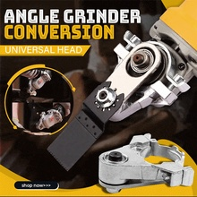 Angle Grinder To Grooving Machine Adapter Angle Grinder Conversion Universal Head Kit For 100 Model Woodworking Tool