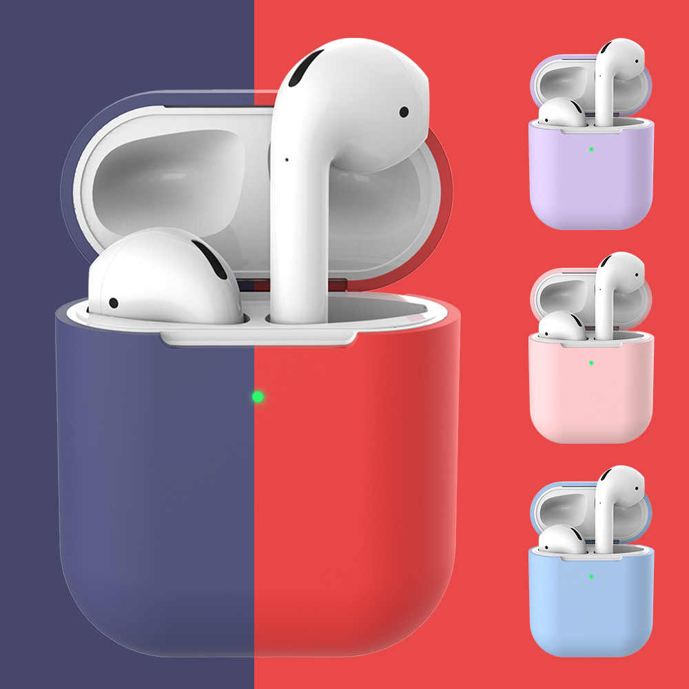 For airpods 2 22 Silicone Cover Wireless Bluetooth Headphone for i30 i40 i50 i60 i70 i80 i90 i100 i200 i300