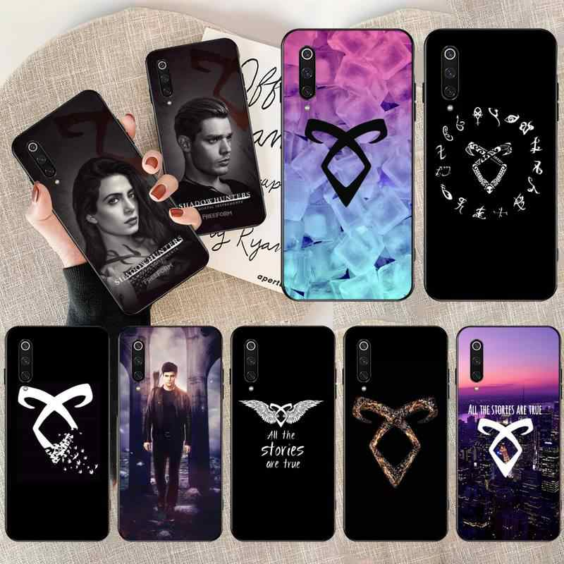 Cutewanan shadowhunters coque シェル電話ケース xiaomi Mi10 10Pro 10 lite Mi9 9SE 8SE pocophone F1 Mi8 lite