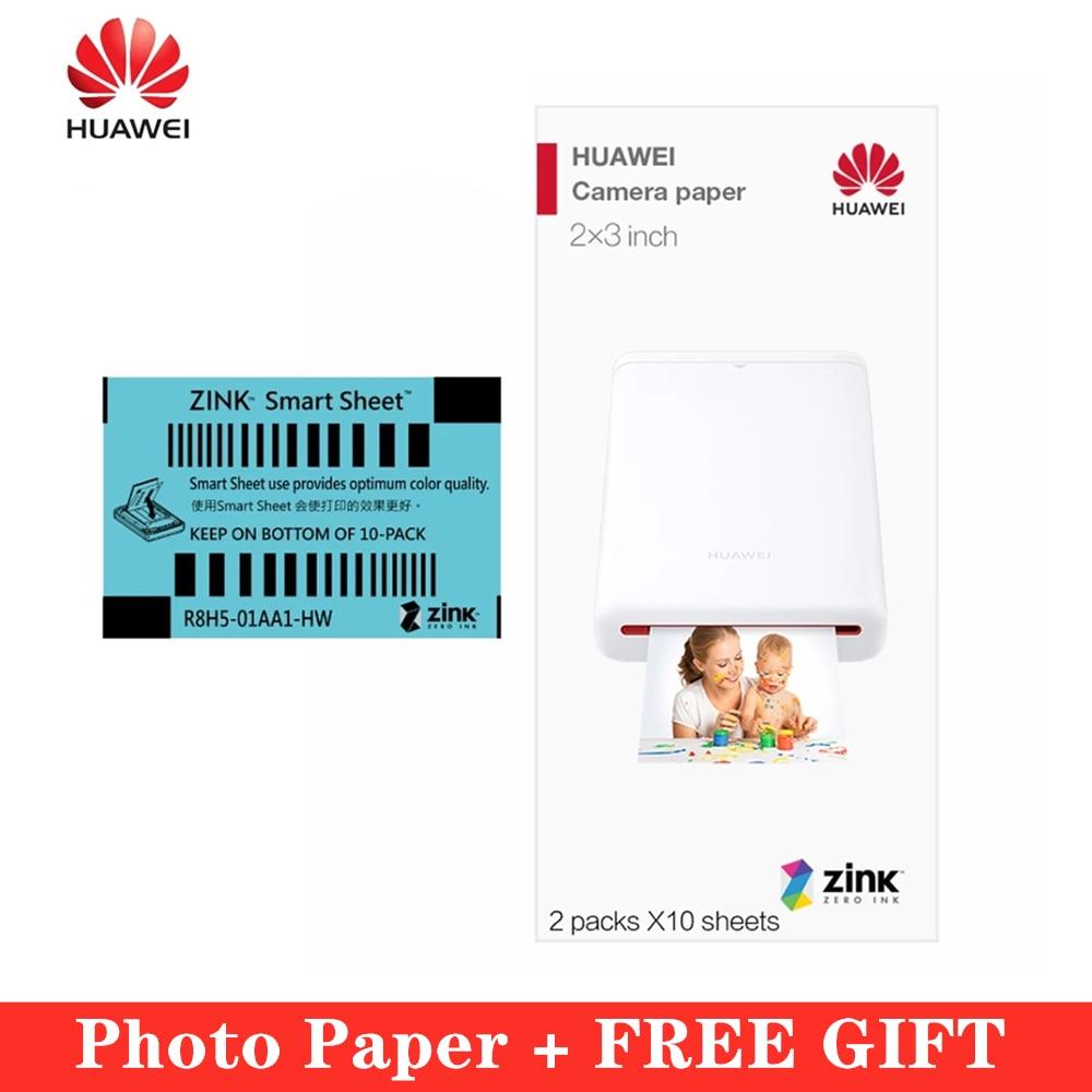 Huawei Zink 2*3 calowy 50*76mm papier fotograficzny do drukarki Huawei HP Canon zoemini LG PD261 251 233 239SP