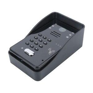 "Image 3 - اللمس مفتاح 7 ""Lcd تتفاعل كلمة السر فيديو باب الهاتف نظام اتصال داخلي عدة الكهربائية سترايك قفل اللاسلكية التحكم عن بعد فتح"