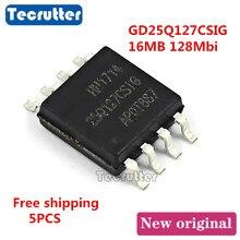 5 pièces GD25Q127CSIG GD25Q127 25Q127CSIG SOIC8 16 MO 128Mbit