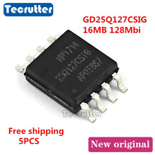 5 uds GD25Q127CSIG GD25Q127 25Q127CSIG SOIC8 16MB 128Mbit