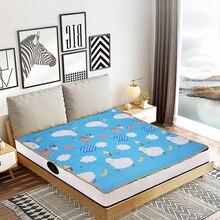 Электрическое одеяло, плюшевое электрическое одеяло с подогревом, 220 В