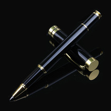 Luxury Metal Shell Business Office School Supplies Ballpoint Pens for Writing Rollerball Pen,Customized with Own Logo jinghao kaco angle series high quality golden rollerball pen with original gift case luxury metal ballpoint pens office supplies
