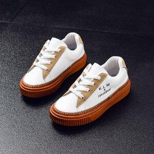 Image 4 - JAKOBBEAR Kids Cattle Leather Shoes for Girls Boys Children Autumn Winter Spring