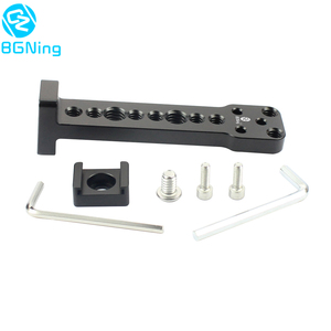 Image 1 - Aluminium External Extension Mounting Plate Bracket Quick Release for Mic Monitor Arm Adapter for Ronin S Handheld Gimbal