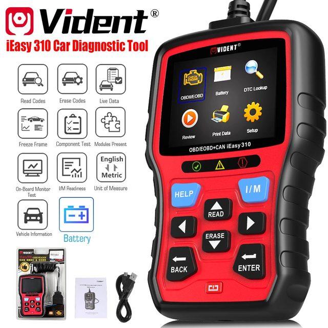 Vident iEasy310 ODB2 Scanner OBDII Code Reader and Car Diagnostic Tool OBD2 Automotive Scanner