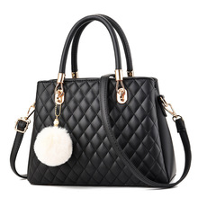 Women Handbag PU Leather Tote Fashion Bags for Women Diamond Lattice Shoulder Bag Designer Female Messenger Bag Torebka Damska women quilted chain shoulder bag wide strap plaid messenger handbag female leather tote bags small diamond lattice crossbody bag