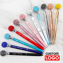Colored Drill Ball Ballpoint Pen Advertising Gift Pen Stationery Wholesale Custom Logo School Supplies Lettering Engraved Name new engraved name pen gold foil metal ball point pen custom logo company name writing stationery gift office school pen with box