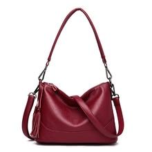 цена на Sac A Main Genuine Leather Luxury Handbags Women Bags Designer Hand bags Women Shoulder Crossbody Messenger Bag 2020 Casual Tote