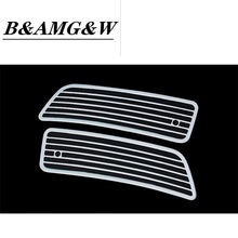 Car Styling Front Hood Air Vent Outlet Sticker Trim Cover Frame For Mercedes Benz R Class W251 R300 320 350 400 Auto Accessories