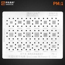Трафарет для реболлинга BGA для Qualcomm PM power ic PM8917 PMI8937 PM8937 PM7150 PM6125 PM8150 /8952/I8952 PM8998 PM660