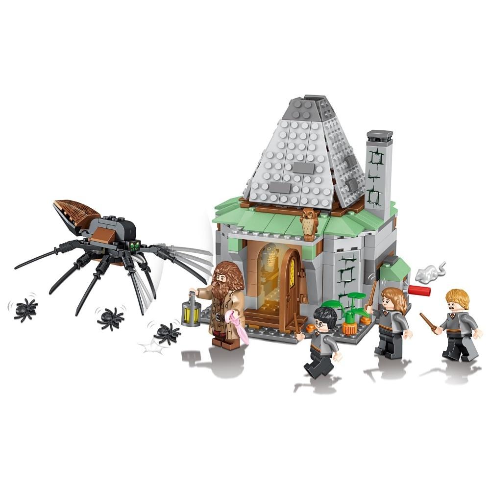 461pcs Hagrid's Hut Compatible 4738 Model Building Kits Blocks Bricks Toys For Children