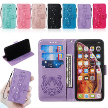 PU Leather Filp Phone Case For LG K8 LV3 2018 K40 K12 Plus Stylus 4 Stylo 5 Aristo 2 Rhinestone Card Wallet Cover Coque