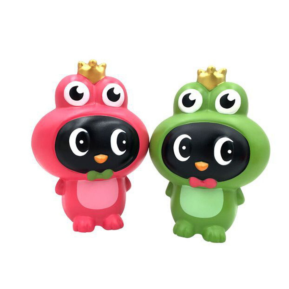 Stress Reliever Cute Frogs Super Slow Rising Kids Squeeze Toys Simulation Frogs fun slow rebound toy children 's toy L1223 enlarge